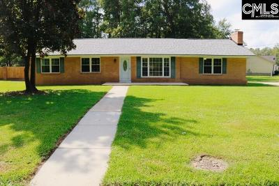 Sumter Single Family Home For Sale: 322 Lemmon