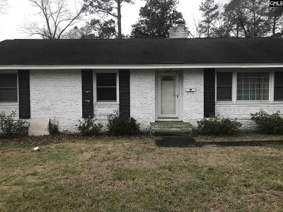 Orangeburg Single Family Home For Sale: 2065 Windsor