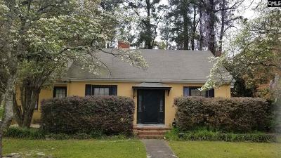 Orangeburg Single Family Home For Sale: 1913 Carolina