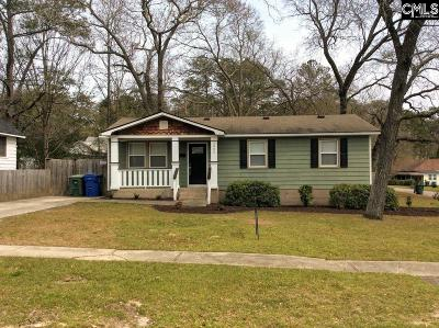 Columbia Single Family Home For Sale: 3800 Palmetto