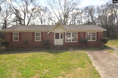 Newberry County Single Family Home For Sale: 1407 Clarkson