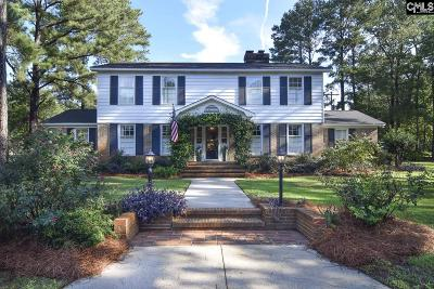 Forest Acres Single Family Home For Sale: 4111 Ivy Hall