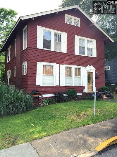 Columbia Single Family Home For Sale: 1102 Belleview