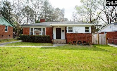 Columbia SC Single Family Home For Sale: $159,500