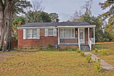 Columbia SC Single Family Home For Sale: $119,900