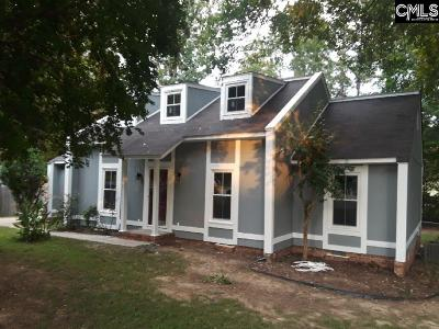 Irmo Single Family Home For Sale: 124 Milway