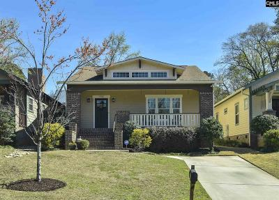 Columbia Single Family Home For Sale: 1022 Darlington