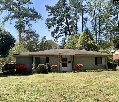 Columbia Single Family Home For Sale: 3501 Palmetto