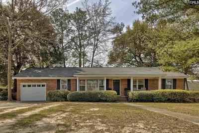 Columbia SC Single Family Home For Sale: $179,500