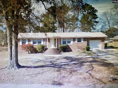 Columbia Single Family Home For Sale: 1419 Nunamaker