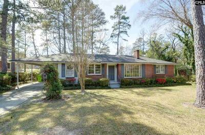 Forest Acres Single Family Home For Sale: 6419 Briarwood