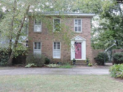 Columbia Single Family Home For Sale: 221 Hampton Trace