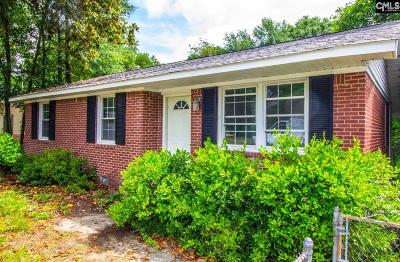 West Columbia Single Family Home For Sale: 323 Derrick Street