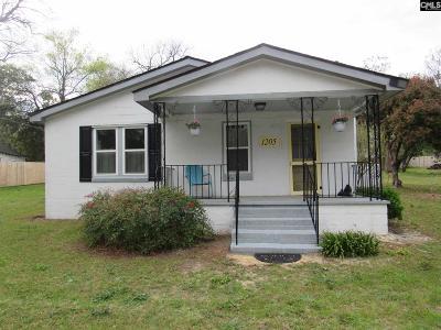 Kershaw County Single Family Home For Sale: 1205 Jefferson Davis