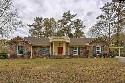 West Columbia Single Family Home For Sale: 2165 Fish Hatchery