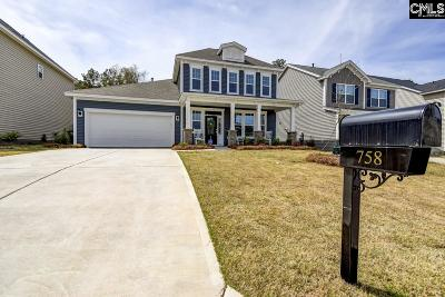 Blythewood Single Family Home For Sale: 758 Pebblebranch