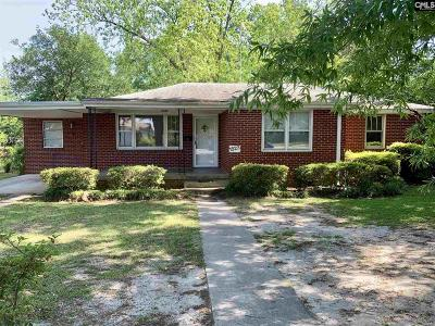 Cayce Single Family Home For Sale: 1523 Dunbar