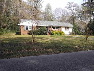 Sumter Single Family Home For Sale: 2025 Linwood