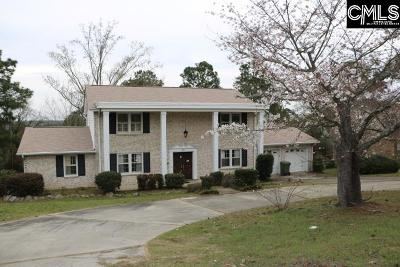 Lexington County, Richland County Single Family Home For Sale: 7819 Hunt Club