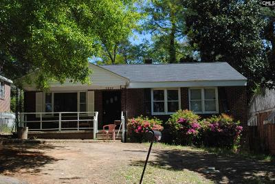 Columbia Single Family Home For Sale: 3832 Brewer