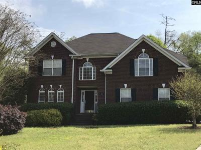 Irmo Single Family Home For Sale: 10 Coldwater