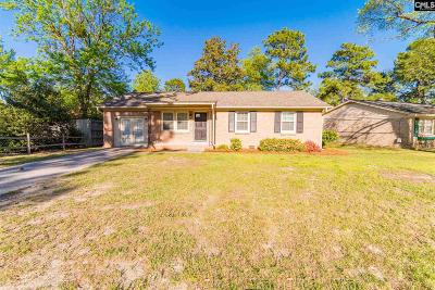 West Columbia Single Family Home For Sale: 1001 Sunbright