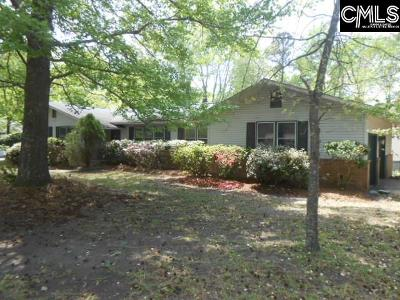 West Columbia Single Family Home For Sale: 100 Shadowfield