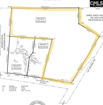Lexington County, Richland County Residential Lots & Land For Sale: 180 Jim Kleckley #A