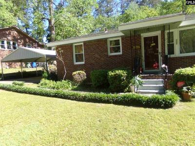 Columbia SC Single Family Home For Sale: $87,000
