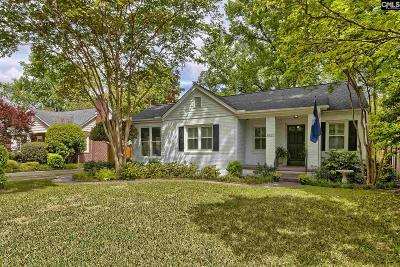 Columbia Single Family Home For Sale: 2825 Burney