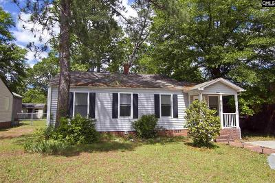 West Columbia Single Family Home For Sale: 1312 C