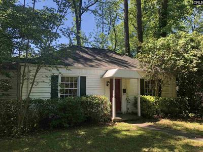 Columbia Single Family Home For Sale: 3133 Harrison