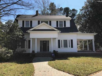 Wagener Single Family Home For Sale: 168 Columbia