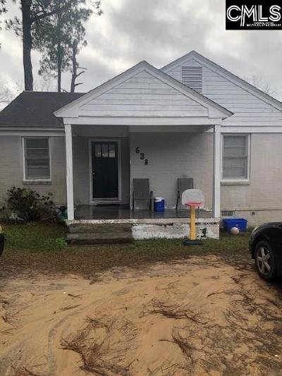 Orangeburg Single Family Home For Sale: 638 Limit