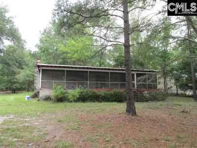 Kershaw County Single Family Home For Sale: 153 Colonial Lake
