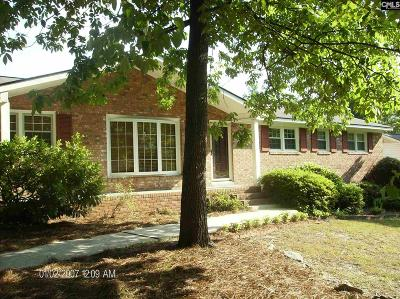 West Columbia Single Family Home For Sale: 1727 Terrace View