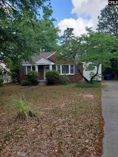 Cayce Single Family Home For Sale: 1324 H