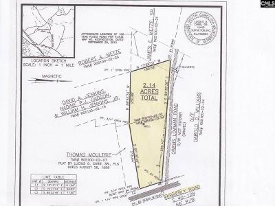 Irmo, Ballentine Residential Lots & Land For Sale: 1031 Kennerly Road & Owen Lowans Road