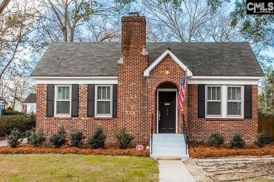 Forest Acres, Shandon Single Family Home For Sale: 125 S Ravenel