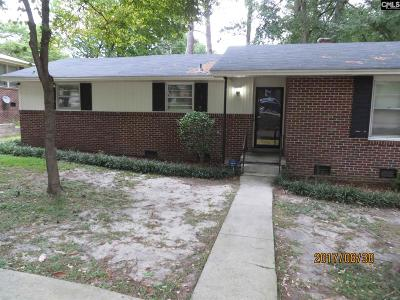 Richland County Rental For Rent: 2038 Mockingbird