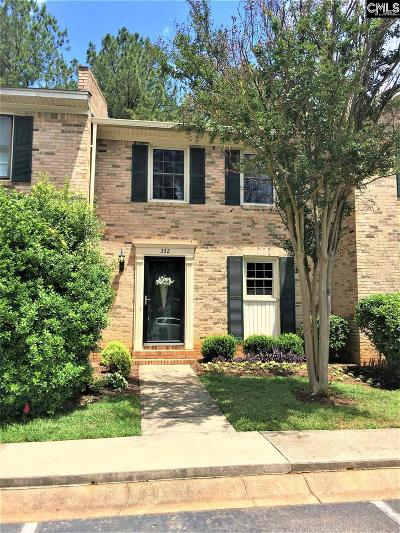 Lexington County, Richland County Townhouse For Sale: 332 Rutledge Place
