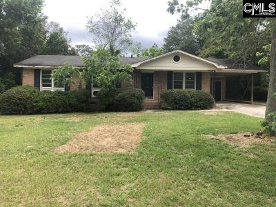 West Columbia Single Family Home For Sale: 1114 Courtney