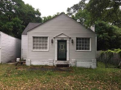 Columbia SC Single Family Home For Sale: $47,900