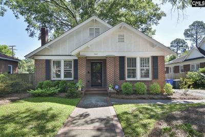Columbia Single Family Home For Sale: 302 S Saluda