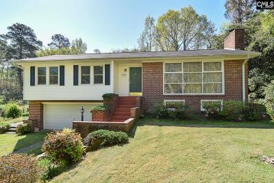 West Columbia Single Family Home For Sale: 1321 Saluda River