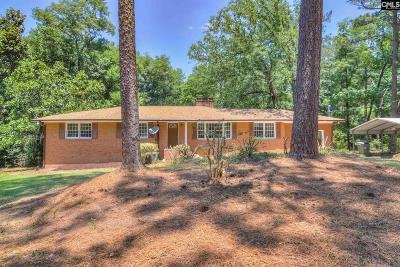 Aiken Single Family Home For Sale: 1730 Ridgecrest