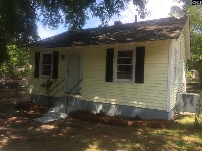 Columbia SC Single Family Home For Sale: $68,000