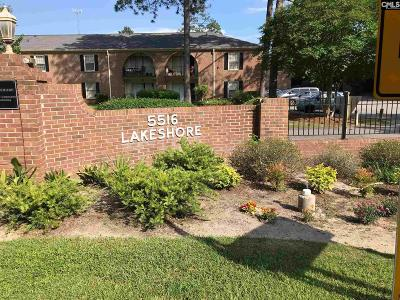 Lexington County, Richland County Condo For Sale: 5516 Lakeshore #106