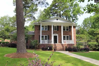Forest Acres, Shandon Single Family Home For Sale: 2829 Ravenwood