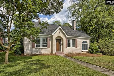 Columbia Single Family Home For Sale: 400 Ravenel